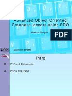200507 Apachecon Advanced Oo Database Access Using Pdo