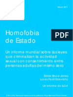 ILGA Homofobia de Estado 2011