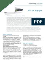 Tandberg E5714 DSNG Encoder