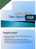 Analisis Wacana Teun A Van Dijk