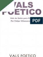 Vals poetico Felipe Villanueva