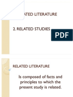 Related Literature and Studies