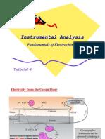 Tutorial 4 - Fundamentals of Electrochemistry