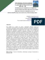FONSECA, S.F. - Diagnóstico de degradação vereda fazendinha