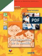 Cuadernillos Para La Reflexion Pedagogic A Participacion de La Familia
