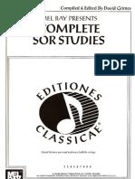 Fernando Sor - Op. 60-44-35-31-6-29