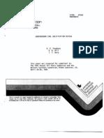 Report - LLNL Underground Coal Gasificaton Review