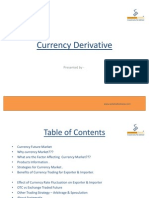 Presentation on Currency Derivatives