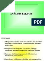 Analisis Faktor