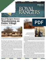 Royal Rangers International Spring 2011 Newsletter