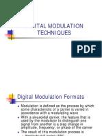 Digital Modulation Techniques