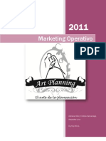 Art Planing / Marketing Operativo