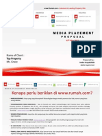Media Placement Proposal Banner Agent Property