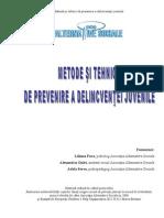AAS Metode Si Tehnici de Prevenire a Delincventei Juvenile 2006