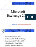 MCSE-06-Implementing of a Exchange Server 2003-02-Theory