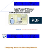 MCSE-07-Designing of an Active Directory Service-02-Theory