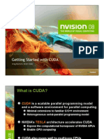 Getting Started w CUDA Training NVISION08