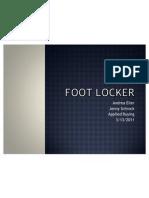 Footlocker Ppt