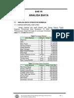 Analisa Biaya Struktur Dermaga