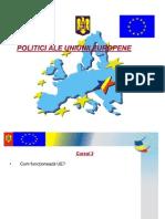 Curs 2 - Politici UE