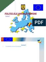 Curs 7 - Politici UE