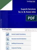 Le & Associates (L&A) All Service Introduction 2011 (English)