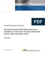 Microsoft Dynamics CRM 2011 Performance and Scalability With Intel