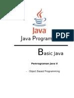 Object Based Programming Java