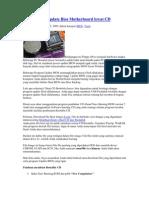 Cara Praktis Update Bios Motherboard Lewat CD