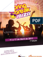 Brochura Spring Break Ibiza 2011 1