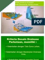 2. Permasalahan & Konsep Drainase Perkotaan