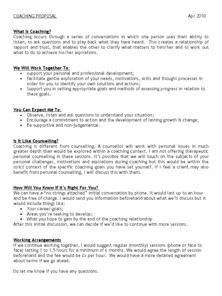 gallery of executive coaching proposal template 1532134353v1