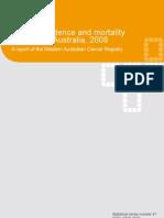 WA Cancer Incidence 7 Mortality 2008