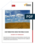 Cost Reduction Using the Public Cloud