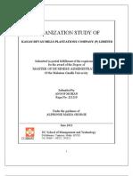 Organizational Study Kanan