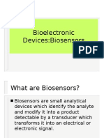 Bio Electronic Devices