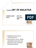 Malaysian History11 - Slides