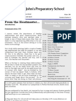 Prep Newsletter No 6 2011