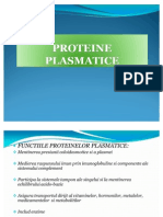 Proteine Plasmatice Curs Pu