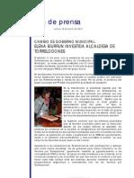 Elena Biurrun Investida Alcaldesa #Torrelodones