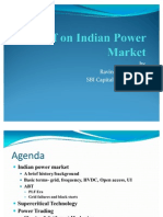 Presentation on Power Markets