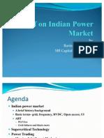 Presentation on Power Markets