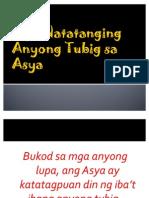Mga ing Anyong Tubig Sa Asya