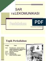 1 Dasar Telekomunikasi