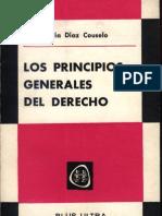 Los Principios Generales Del Derecho - Jose m. Diaz Cousuelo