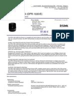 DPR-1020E