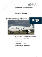 Leadership Change In Pakistan Airlines