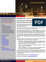 Investing in the Future of Energy Newsletter March 2011