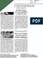 Ambiente e referendum (il Giorno)
