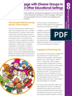 How to engage with diverse groups in schools and other educational settings (preview)